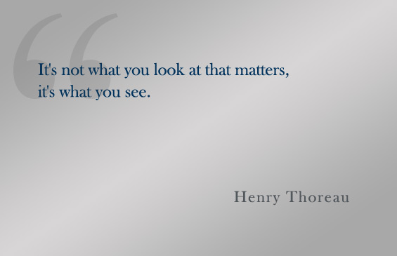 Quote: Henry Thoreau
