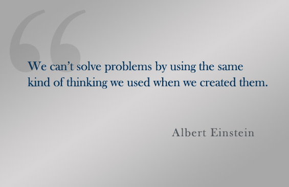 Quote:  Albert Einstein