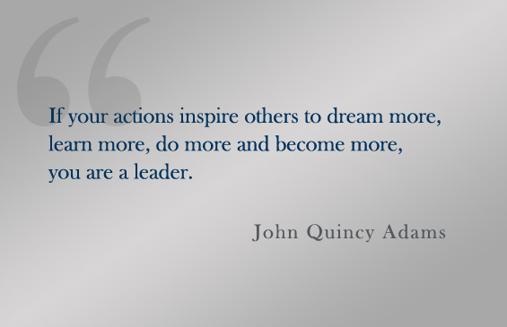 Quote:  John Quincy Adams