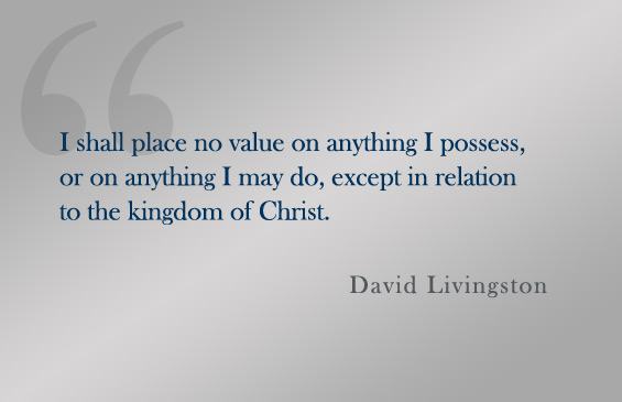 Quote:  David Livingston