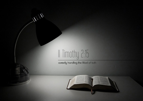 lamp and bible - photo #12