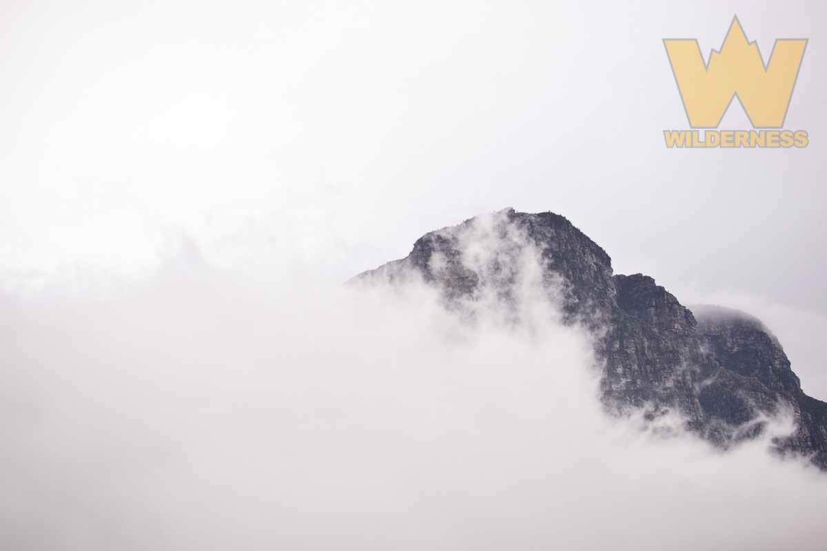 Mountains Shrouded in Clouds