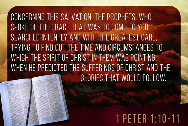 1 Peter 1:10-11