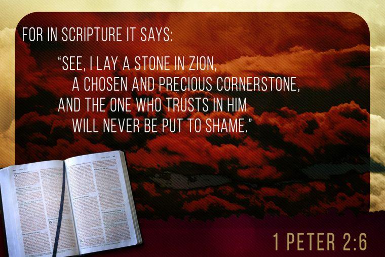 1 Peter 2:6