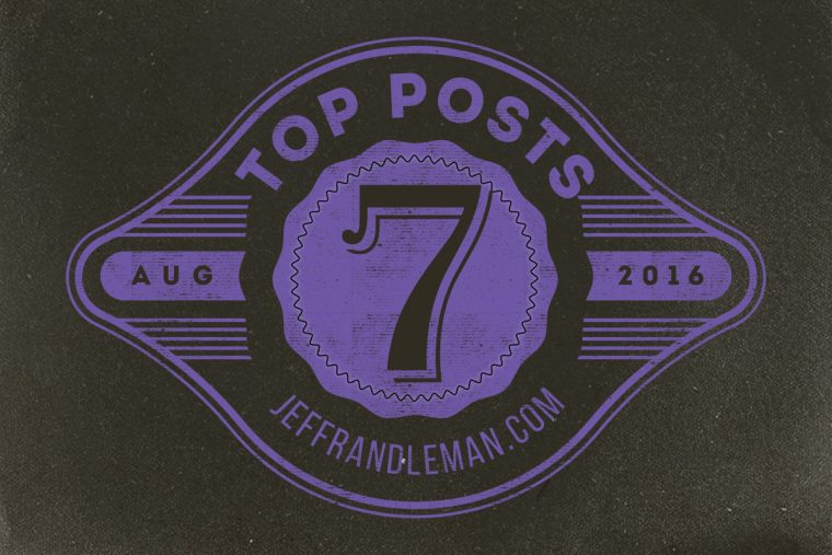 Top Posts for August 2016