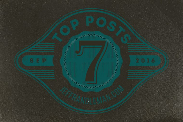 Top Posts for September 2016