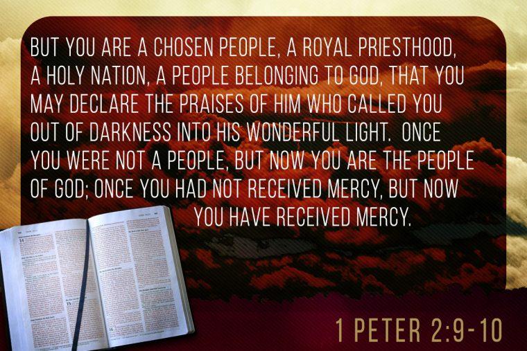 1 Peter 2:9-10