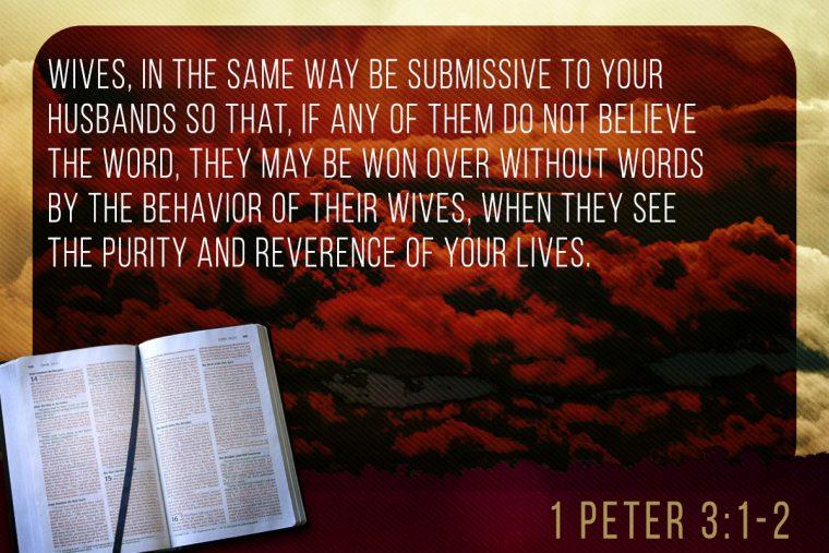 1 Peter 3:1-2