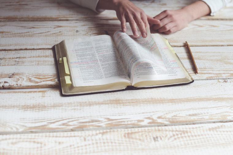 Open Bible - Psalm 119