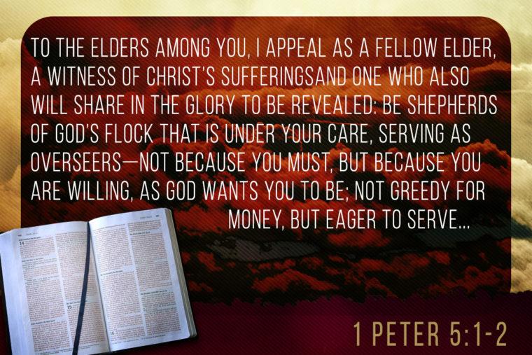 1 Peter 5:1-2